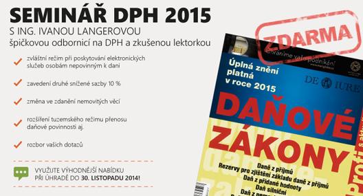 Seminář DPH 2015